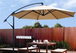 Square Patio Umbrellas Furniture Furniture Cantilever Umbrella Design With Wooden