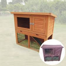 Cheap Rabbit Hutch Covers Monza 3ft Rabbit Hutch Including Cover Pisces