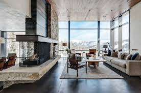 mountain home interiors mountain home contemporary architecture interior design