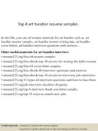 Material Handler Sample Resume by Material Handler Resume Sample Resume For Your Job Application