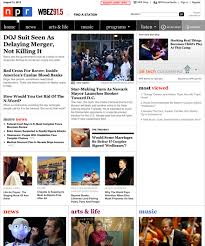 Seeking Npr Npr S New Redesign Aims To Create A Less Overwhelming Reading
