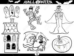 Drawing Of Halloween Cartoon Illustration Of Halloween Themes Vampire Or Count Dracula