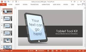 tablet toolkit template for powerpoint