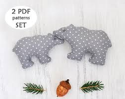 stuffed bunny sewing pattern sewing ornament