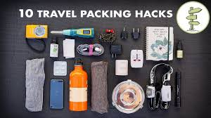10 essential travel packing tips hacks minimalist traveling