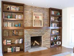 cabinet u0026 shelving how to build in bookshelves with fireplace in