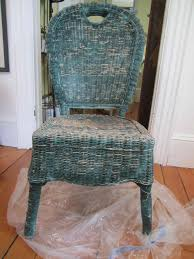 painted wicker furniture home ideas