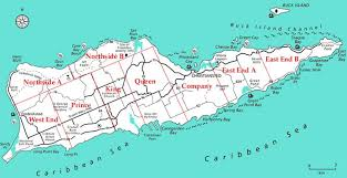map st croix about the quarters living on st croix