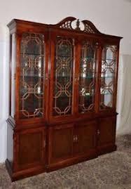 mahogany china cabinet ebay