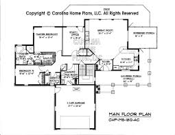 one story home floor plans mid sized open house plan chp ms 1812 ac sq ft affordable mid