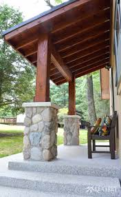 covered porch add on attach roof to existing designs porch add on