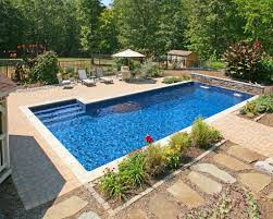 in ground swimming pool designs incredible inground pool ideas for