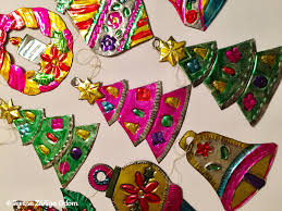 mexican tin ornaments southern señora