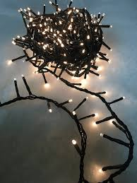 1500 led 34m compact cluster tree lights in warm white