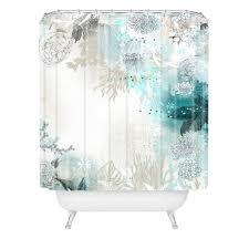 iveta abolina seafoam shower curtain deny designs home accessories