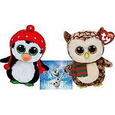 amazon ty beanie boos icicles owl north penguin 6