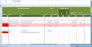 Vendor Management Excel Template Contract Management Excel Alerta Contract Management Software