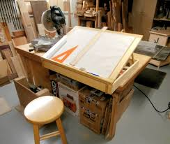 Corner Drafting Table Drafting Table Max Vollmer