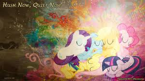 hush now quiet now fluttershy u0027s lullaby orchestra youtube