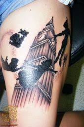 peter pan tattoo silhouette google search info about tattoo
