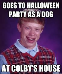 Halloween Party Meme - colby meme 28 images like a boss adopts the dog his best friend