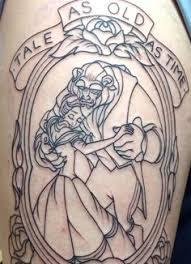 beauty beast mirror u0026b thigh tattoos