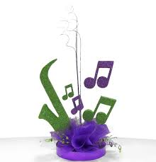 music theme party centerpiece ideas awesome events blog