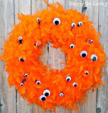 Halloween Wreaths Pinterest by Halloween Monster Wreath