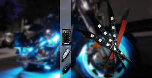 led strip lights for motorcycle aura led accent light kits opt7