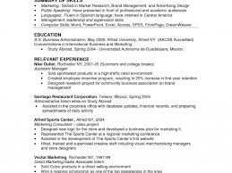 Business Resume Examples Introducing The Student Federal Resume Sample Database The Boost