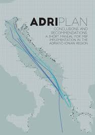 adriplan conclusions and recommendations a short manual for msp