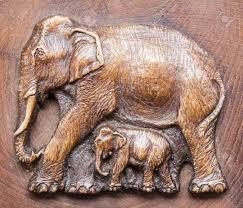 elephant made of wood stock photos royalty free elephant made of