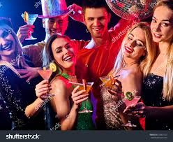 cocktail party photography dance party group people dancing women stock photo 626801720