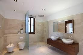 Modern Villa Interior In Mallorca By Curve Interior Design - Modern ensuite bathroom designs