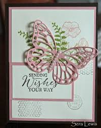 mother u0027s day card using stampin u0027 up butterfly basics stamp set