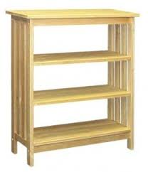 Mission Style Bookcase Shaker Bookcases Foter