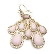 Pink Chandelier Earrings Pink Chandelier Earrings Cherry Blossom Wedding Pinterest