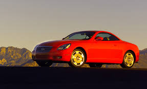 lexus sc400 red 2001 lexus sc430 road test u2013 review u2013 car and driver
