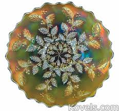 carnival glass egg plate antique carnival glass glass price guide antiques