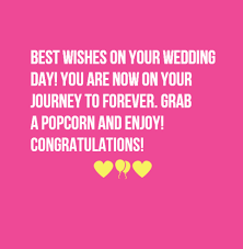 wedding day quotes best 40 wedding card messages for just married