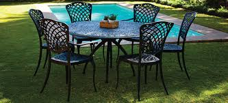 Cast Aluminium Outdoor Furniture by Outdoor Aluminium Furniture Manufacture Returns To South Africa