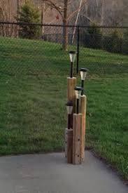 Landscaping Solar Lights Landscaping Timber Solar Light Stand Diy Home Pinterest