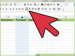 Create Excel Spreadsheet How To Create An Excel Spreadsheet Without Excel 12 Steps