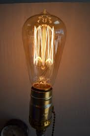 Desk Lamp Light Bulbs Industrial Steampunk Style Table Lamp With Vintage Look Edison
