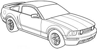 sketch clipart car pencil and in color sketch clipart car