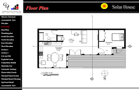 mission statement axonometric view site plan floor plan roof plan