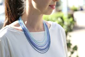 make seed bead necklace images Howe we live diy ombre seed bead necklace howe we live jpg