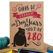 personalised birthday cards notonthehighstreet com