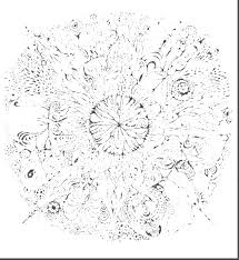 detailed mandala coloring pages mandalas print