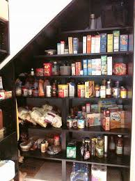 creamy white kitchen pantry idea for small space kitchen pantry